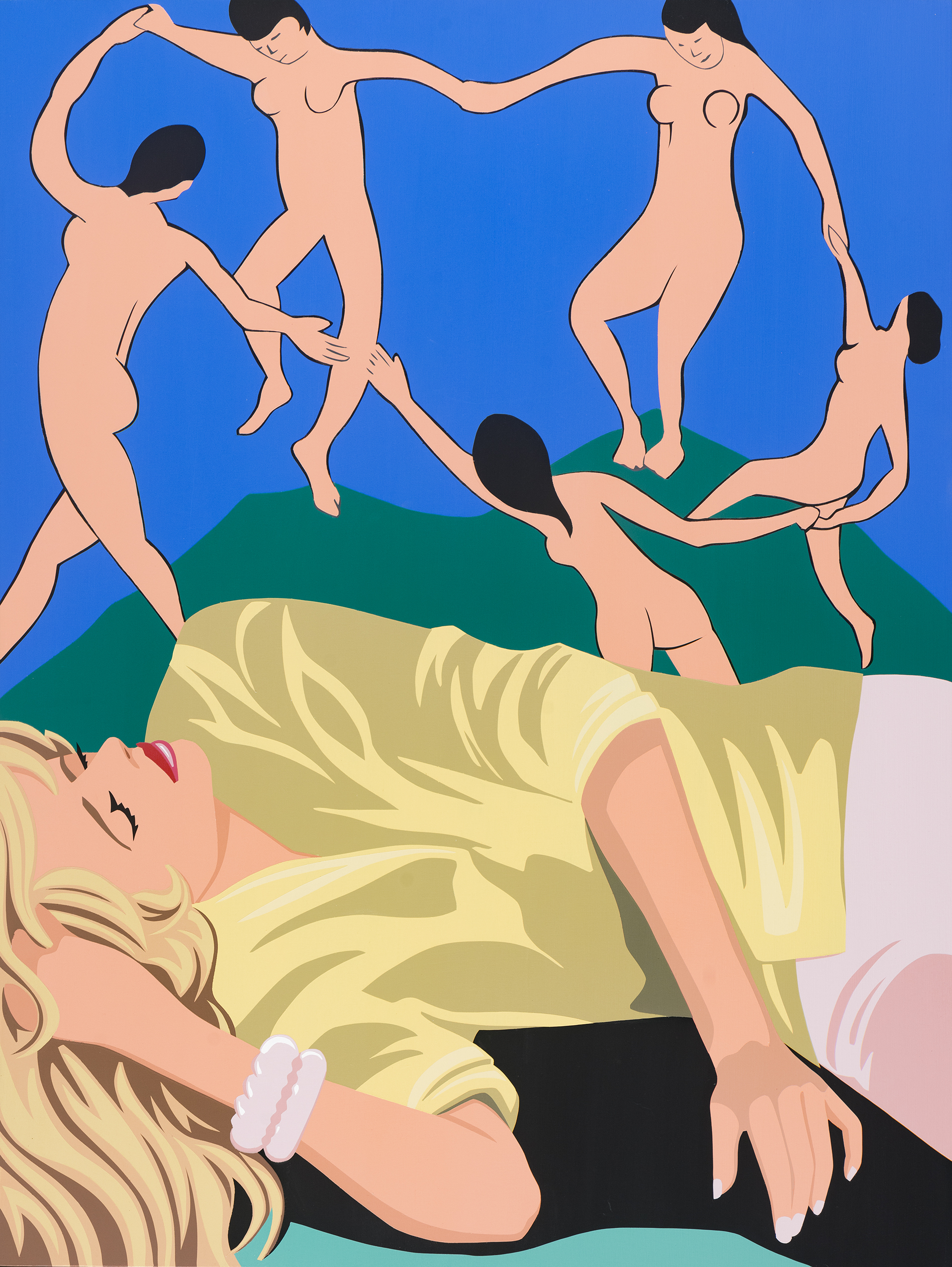 Wolanin - Women dreaming of Matisse dancers